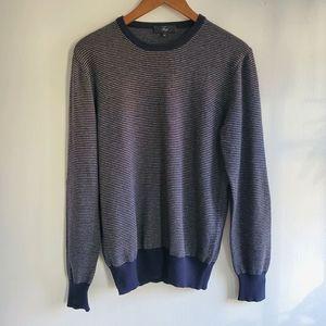 FAY 100% Cashmere Stripe Sweater